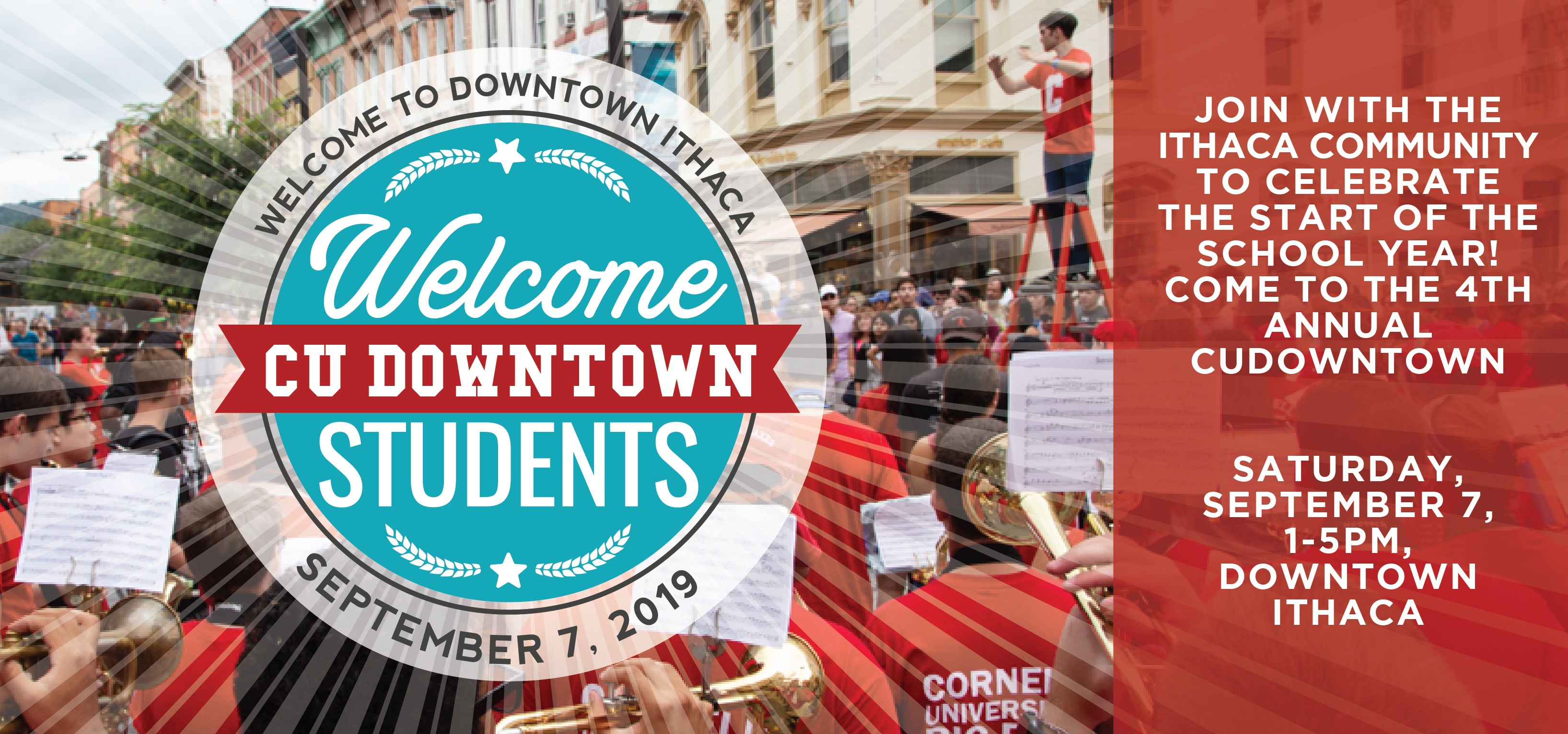 Visual for CU Downtown Event