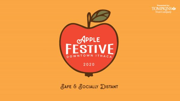 Orange Apple Festive logo