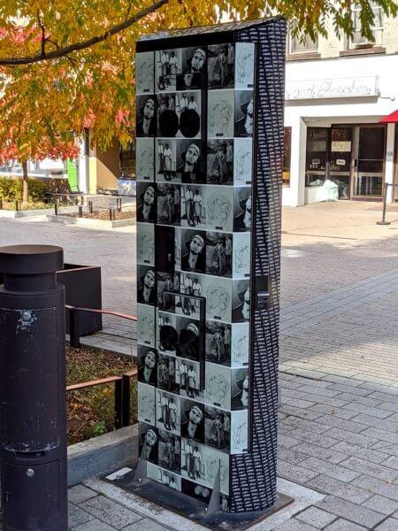Back of Commons kiosk
