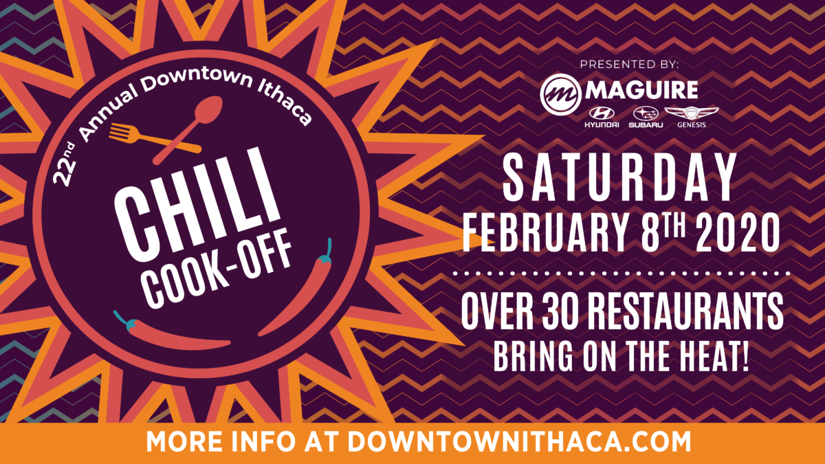 22nd Annual Downtown Ithaca Chili Cook-Off presented by Maguire Hyundai Subaru Genesis