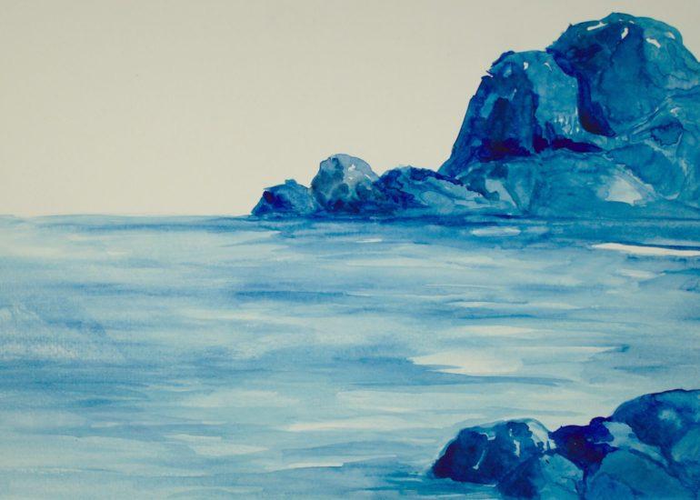 Bethany LeBlanc painting