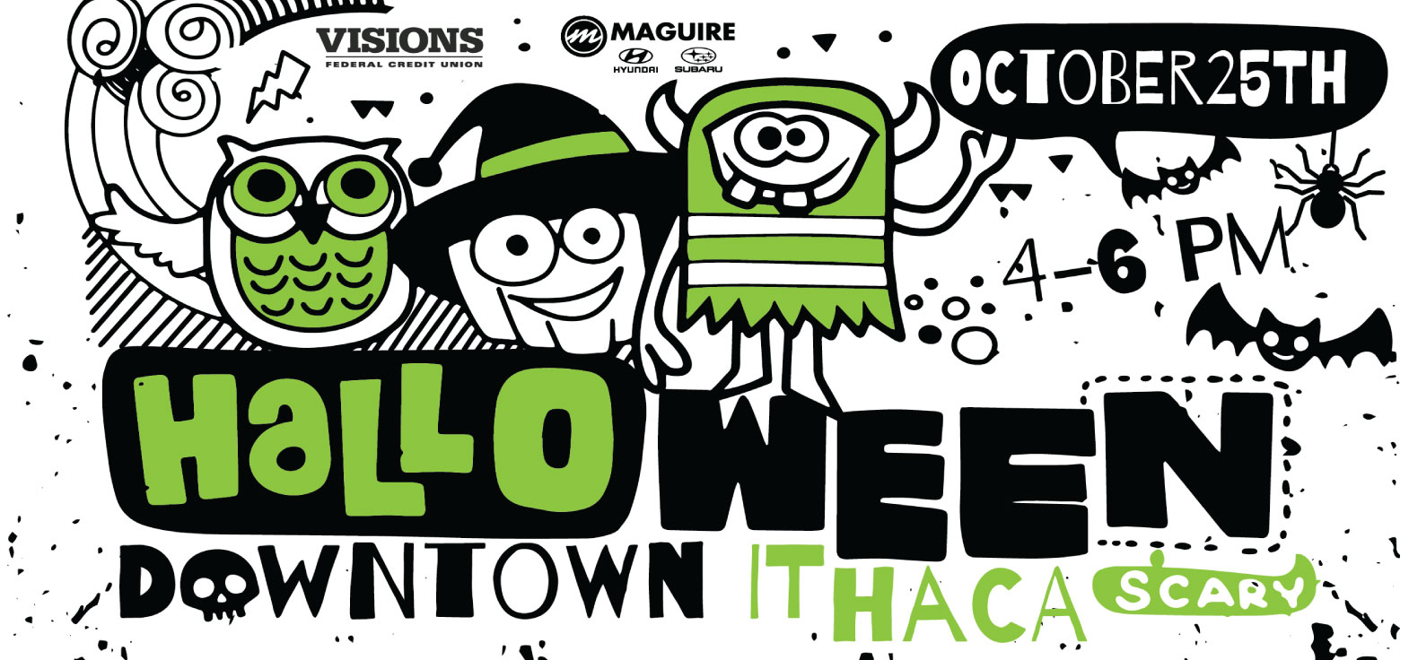 Halloween in Downtown Ithaca October 25th