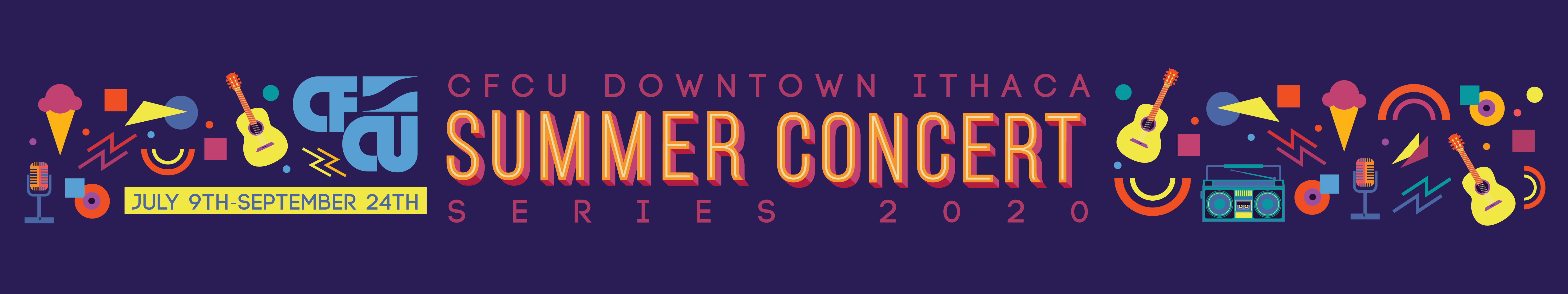 Summer Concert Series Header Image