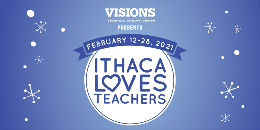 Ithaca Loves Teachers logo