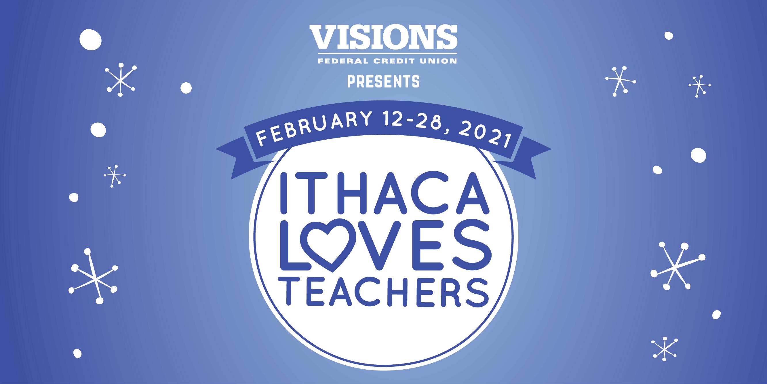 Ithaca Loves Teachers logo