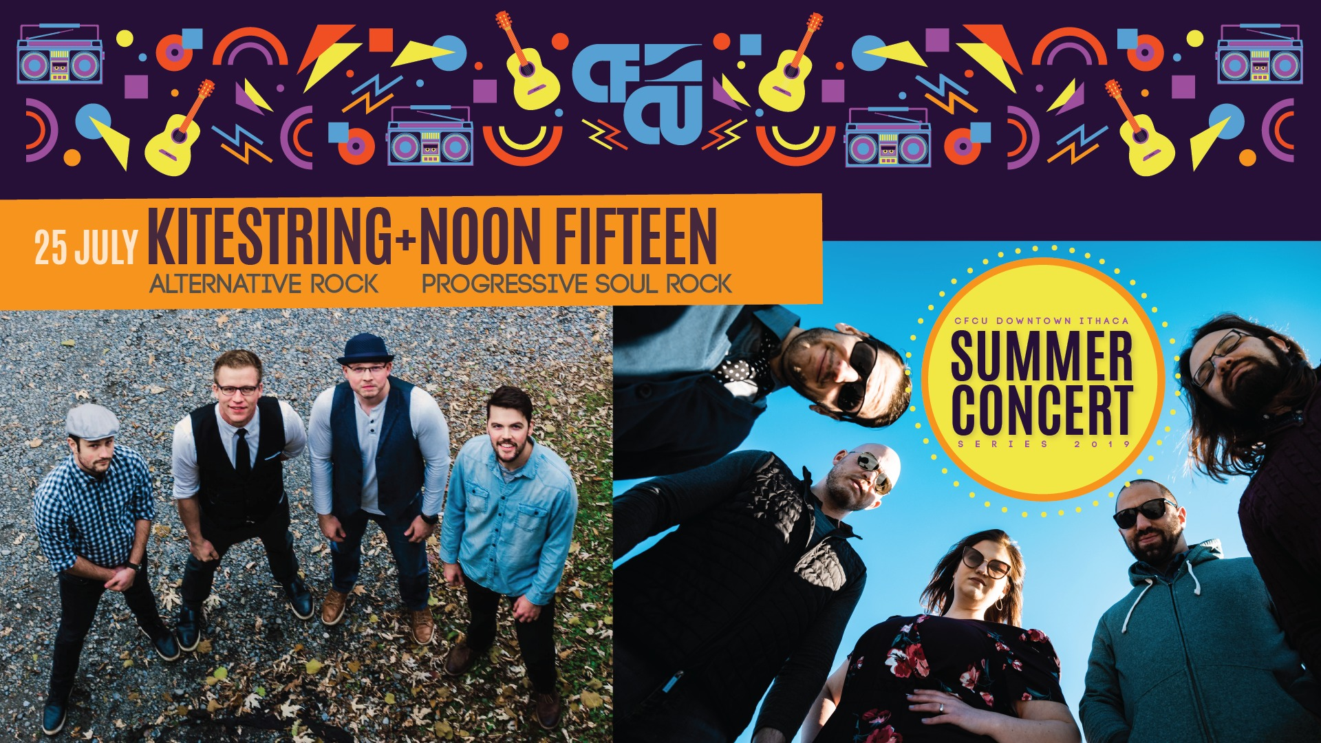 Kitestring and Noon Fifteen