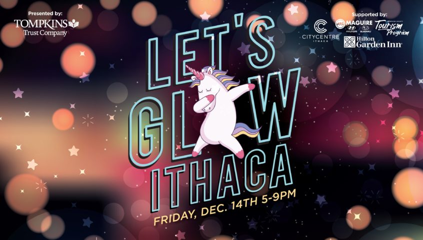 Let's Glow Ithaca logo