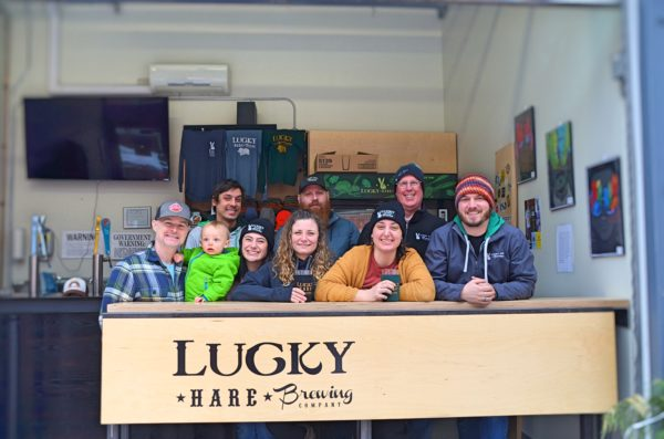 Lucky Hare Brewing Company staff