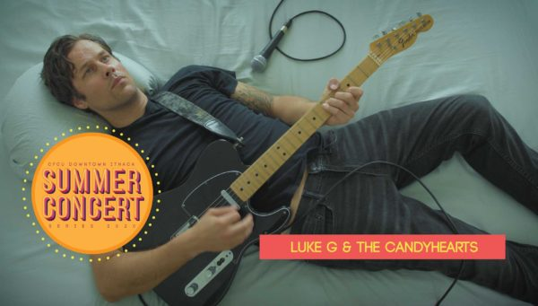 Luke G. & The Candyhearts band image