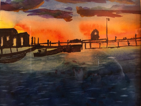 Andrew Farnham painting
