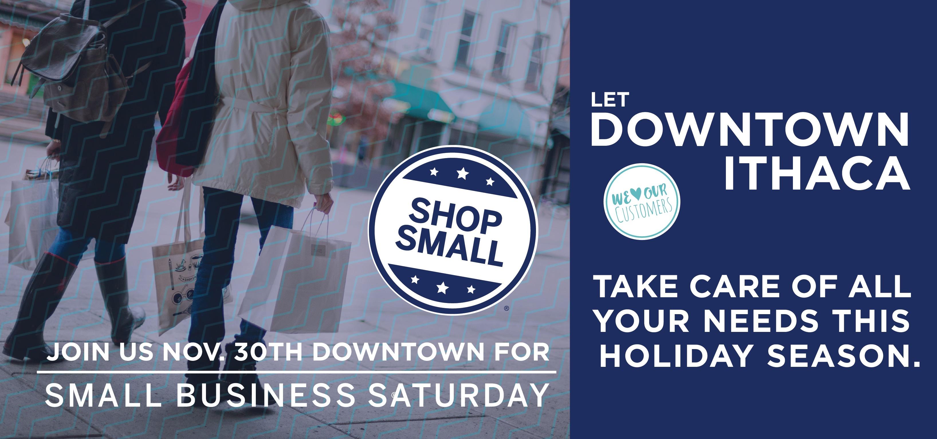 Small Business Saturday - Nov. 30, 2019