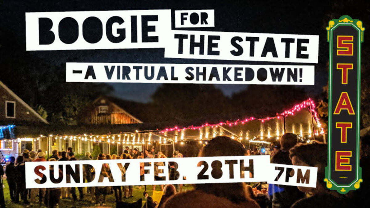 Boogie for the State logo
